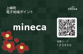 minecaカード